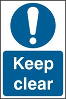 Keep clear - PVC (200 x 300mm)